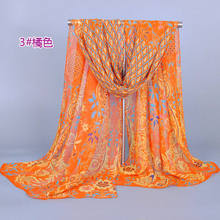 2015 new arrival designer scarf nation women's scarf long shawl peacock printed cape silk Black Flowers chiffon Fashion Scarves(China (Mainland))