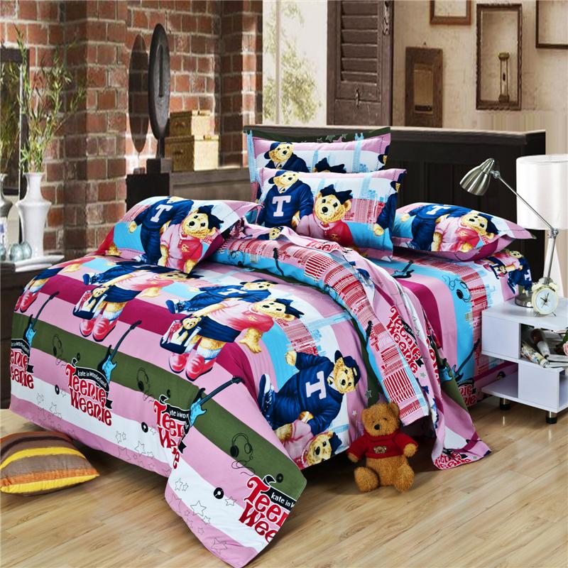 buy bear for children king queen size bedding sets bedclothes duvet covers. Black Bedroom Furniture Sets. Home Design Ideas