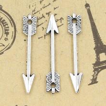 Charms freccia 100 pz 30mm no. GQ05533 argento tibetano fai da te gioielli retrò collana del braccialetto antico ciondolo in argento(China (Mainland))