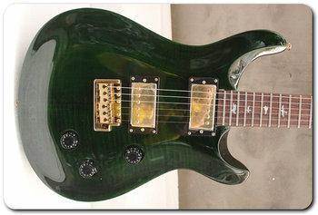 Free Shipping New Custom Shop  prs Paul Reed Smith Custom Green Tiger Electric Guitar Hot Prs Guitars  EG11