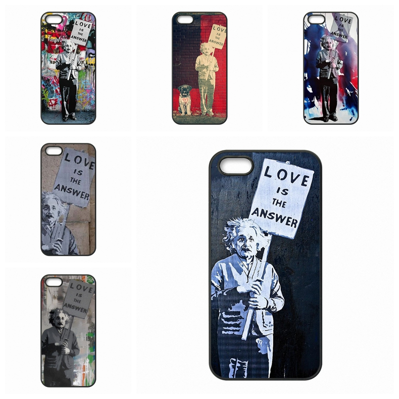 Bags Cases Love is the Answer Albert Einstein For Sony Xperia Z Z1 Z2 Z3 Z4 Z5 Premium compact M2 M4 M5 C C3 C4 C5 E4 T3(China (Mainland))