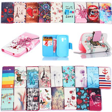 Leather Pu Filp Phone cases For Samsung Galaxy S3 mini Case Stand Holder Cover Cases With Card Slot For samsung S3 mini i8190(China (Mainland))
