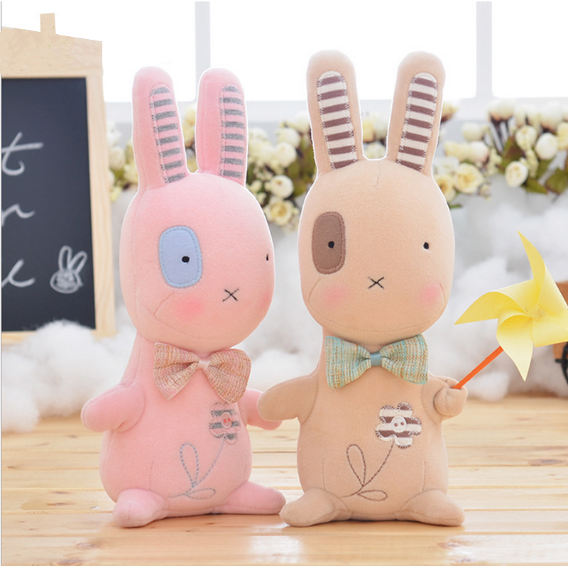 Metoo bunny rabbit koala cow and chicken small pudding plush toys creative doll baby dolls for kids Birthday/Christmas Gift(China (Mainland))