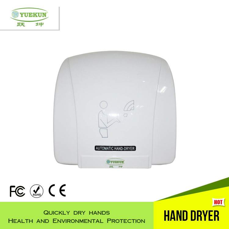 Hands Free Electrical Hand Dryer for bathroom, ABS Material Jet Air Hand dryer, high speed hand dryer(China (Mainland))