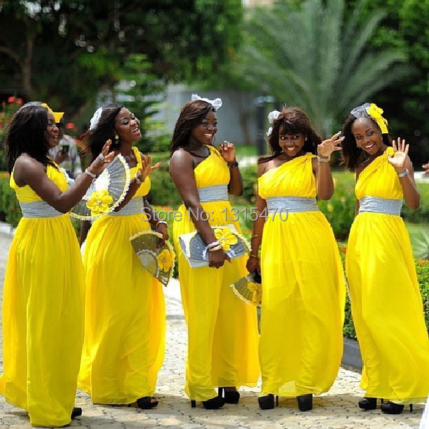 Compare Prices on Yellow Wedding Bridesmaid Dresses- Online ...