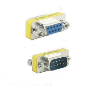 DF CABLE & PLUG RS232 Serial port converter adapter Male to female 9pin to 9pin connector(China (Mainland))