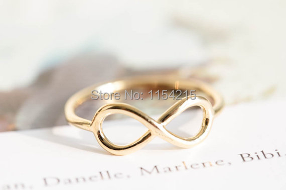 Min 1pc-infinite rings,infinity pinky rings,eternity rings, fashion design ring for wowen EY-R002(China (Mainland))