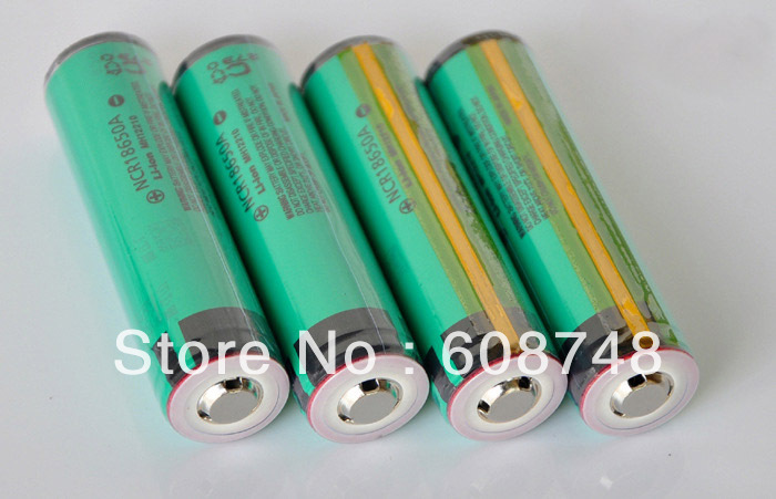 4pcs/lot NCR18650A LI-ION BATTERY 3100mAh 3.7v 18650 NEW PROTECTION PCB for PANASONIC JAPAN(China (Mainland))