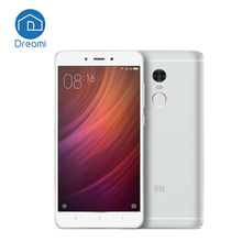 Dreami Original Xiaomi Redmi Note 4 16GB ROM 2GB RAM MTK Helio X20 Deca Core 5.5 Inch Fingerprint ID 4100mAh Mobile Phone Note4(Hong Kong)