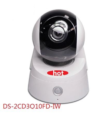 Гаджет  Hikvision latest 1.0MP network camera DS-2CD3Q10FD-IW supports 355 degree rotation IR PTZ485 wifi ONVIF Maximum supportSD64GB  None Безопасность и защита