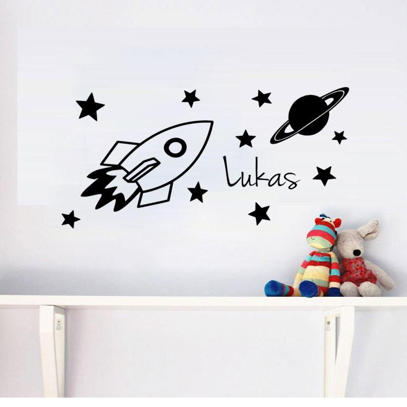 ... Verwijderbare Vinyl Muurdecoraties Voor Kids Slaapkamer Decoratieve