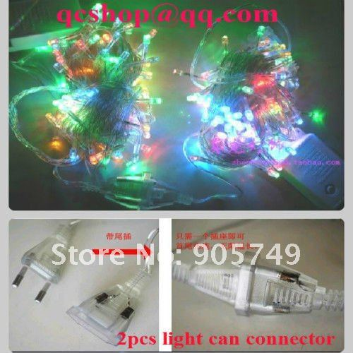 free shipping tail connector Male and female plug christmas lights led string lighting festival holiday party wedding decoration