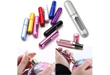 1 Piece Portable Small 5ML Refillable Perfume Atomizer Spray Bottle For Outgoing HB88