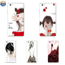Phone Case Huawei P8/P8 P9 Lite Plus G9 Shell Honor 4A 4C 5C 7 7I Back Cover Mate 8 Cellphone Love Blind Design Painted - WISAPI Store store