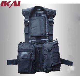 SMJ027-5 Men's Outdoor Fishing Vest Multi-pocket Waterproof Adjustable Belts Waistcoat Free Shipping High Quality Jacket(China (Mainland))
