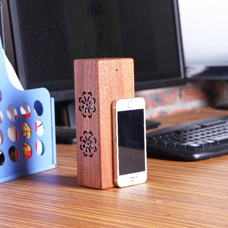 New arrive Portable Wireless Bluetooth Rechargeable Natural Unique Wood Speaker Hi-Fi Boxes for iphone 5 5s 5c 6 6s plus(China (Mainland))
