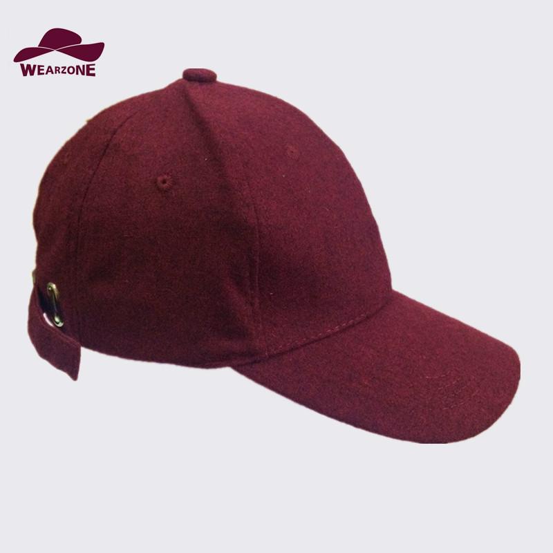 2016 baseball hat new woolen cap flannel snapback