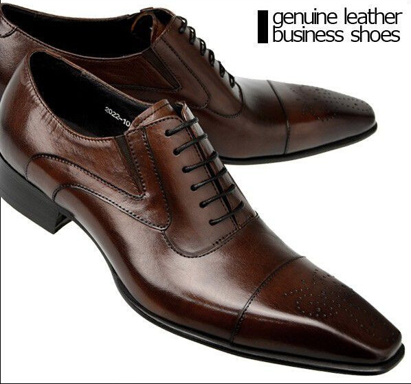 fashion shoes oxford genuine leather shoes