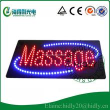Free shipping High brightness low price LED mini display / Customer made  LED massage led open sign/Thai Massage acrylic sign(China (Mainland))