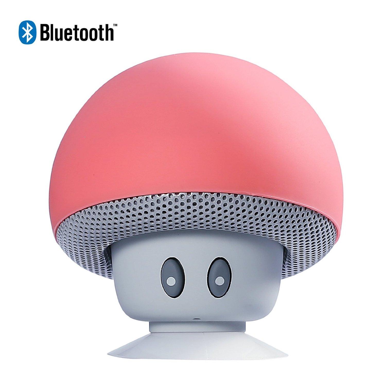 Mini Wireless Bluetooth Speaker Mushroom Head with Sucking Disk Bracket Bluetooth V4.0 Compatible with Ipad iphone Laptop Phone(China (Mainland))
