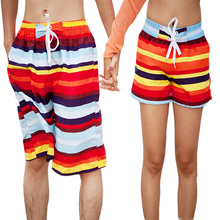FREE SHIPPING new fashion lovers beach pants men and women hot pants big size Sports shorts male beach pants loose pants