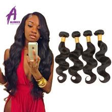 2015 Promotion Rosa Hair Products Brazilian Body Wave 4pcs Lot Cheap Virgin Hair Brazilian body Wave 100% Unprocessed Human hair(China (Mainland))