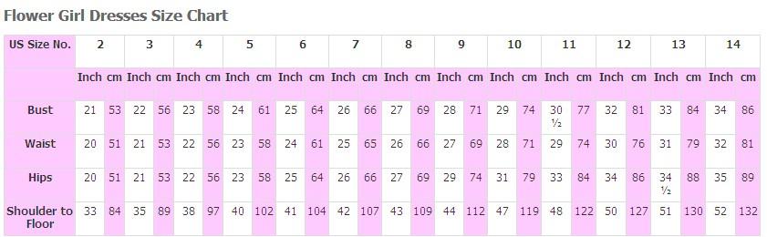 flower size chart 1