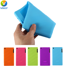 Silicone Case for Lenovo Tab A7-30 TC/A7-30 HC/A3300 TC Tablet Cover Durable Super Slim Silicone Cases