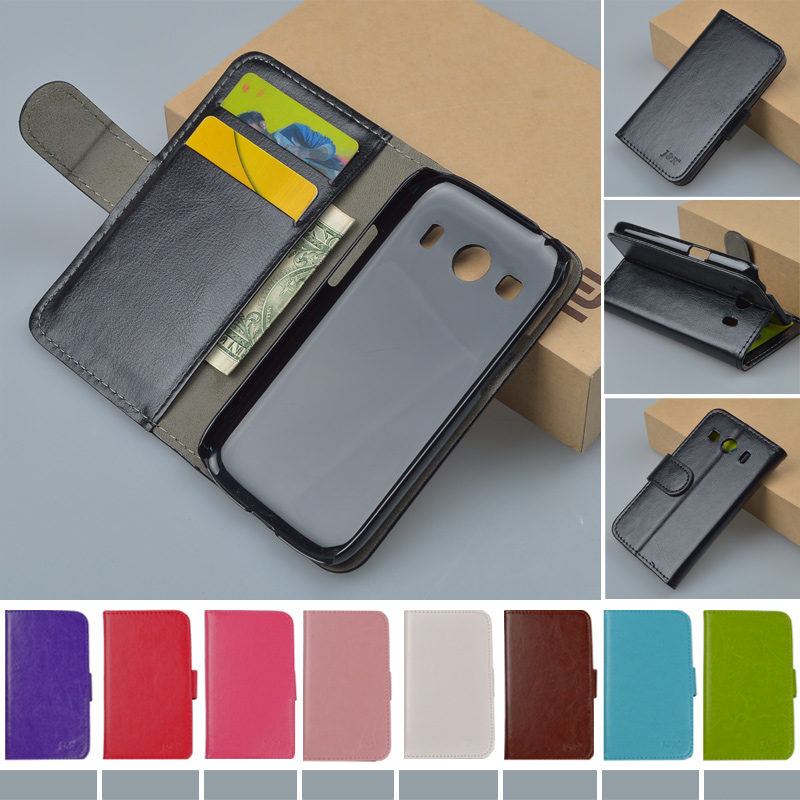 Flip Retro PU Leather Case For Samsung Galaxy Ace 4 G357FZ G357 Cover Business style Original Hot Brand phone cases 9 colors(China (Mainland))