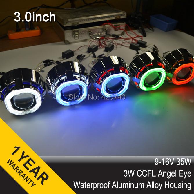 Неоновые кольца Angel Eyes X-STAR 3.0hqd 3 HID CCFL H1 H4 H7 13 HB3 HB4 9004 9007 + 2 35w AC