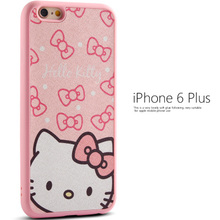 For iphone6S cartoon For Apple phone shell protective sleeve 4.7 6plus 5s silicone shell small fresh