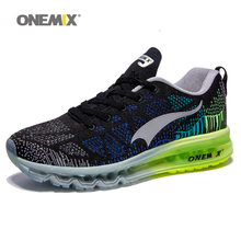 ONEMIX Men Women Air Running Shoes for Men Super Light Shoes Max Brand Women Sport Sneaker Breathable Mesh Athletic Outdoor Shoe(China (Mainland))