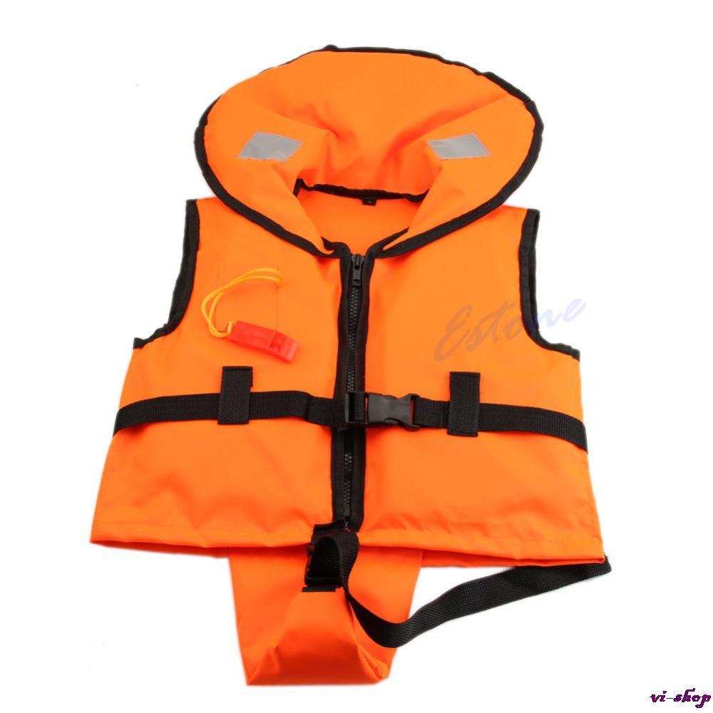 E107 Free Shipping Children Kids Swimming Life Jacket Vest+Whistle Child Youth Boy Girl Boating(China (Mainland))