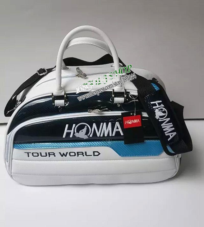 New HONMA TOUR WORLD Golf bag high quality PU golf clothing bag 3 colors in choice Golf shoes bag Free shipping(China (Mainland))
