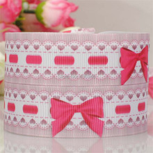 Pink Sweetheart Big Bow Grosgrain Ribbon Hairbows