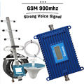 Strong Voice 2G GSM 900 Cellular Signal Repeater LCD Display 70dB Mobile Phone Amplifier GSM Cellphone