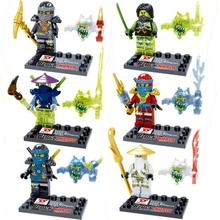 minifigures Building Blocks blocks toys Super Heroes Ninja Zane Jay Cole WU MiniFigures Minous Phantom Mini Figures Toys - Uniblocks store