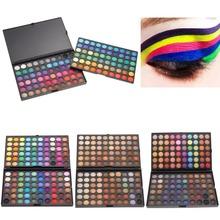 120 farbe Mode Lidschatten-palette Kosmetik Bilden Werkzeug make-up Lidschatten-palette Lidschatten Set für frauen 4 Stil Farbe(China (Mainland))
