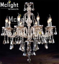 Hot Sale Luxury Modern Crystal Chandelier for Living Room Bedroom Lamp Modern Chandelier Crystal Lighting(China (Mainland))