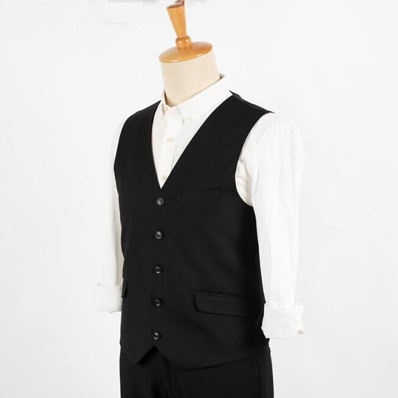 Popular Black Suit Vest-Buy Cheap Black Suit Vest lots from China