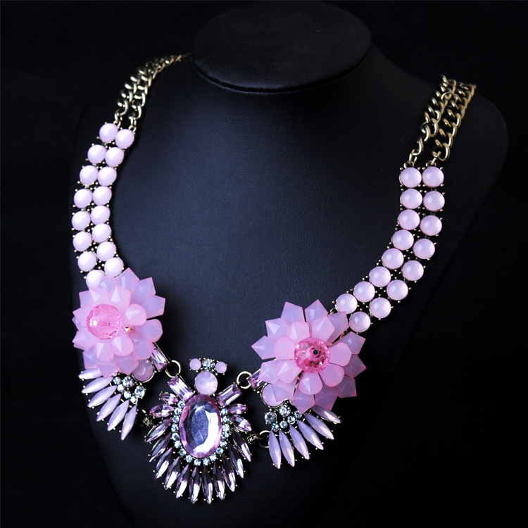 2015 new brand design fashion best friend bib necklace modern style fashion women necklace & pendents for women jewelry(China (Mainland))
