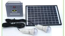 10W,alternative energy generator,Home solar panels, small power lighting system apple mobile phone travel charger night market(China (Mainland))