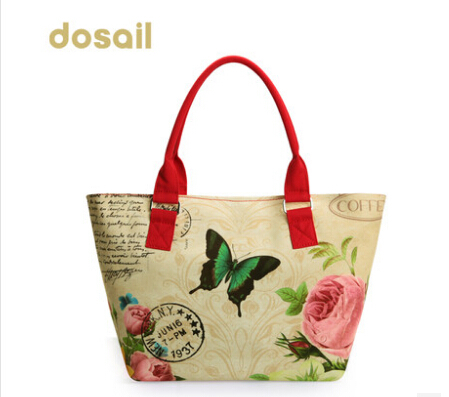 womens messenger bags women dosail floral  print canvas handbag  totes2014shoulder bags lady evening handbags travel bags13<br><br>Aliexpress