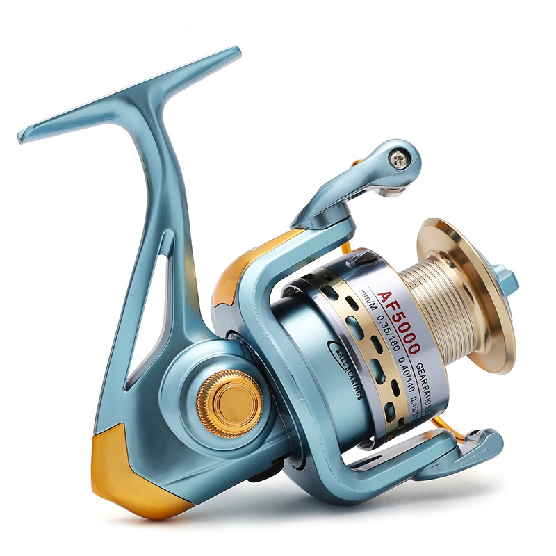 New Arrive Free Shipping Good Quality Big Game Fishing Reel Spinning Reel Feeder Long Casting Wheel Equipment 5.5:1 12BB(China (Mainland))