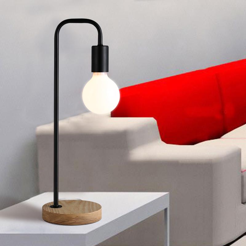 buy modern iron art white table lamp bedroom lamp