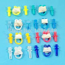 "M112-""Swimming Soft Nose Clip Ear Plug Earplug Water Swim New(China (Mainland))"