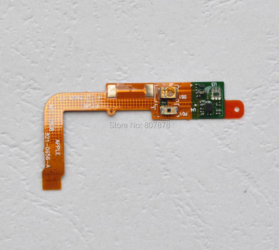 2pcs/lots Light Sensor Flex Cable Repair Parts For iphone 3g 3gs Replacement + Free Shipping(China (Mainland))