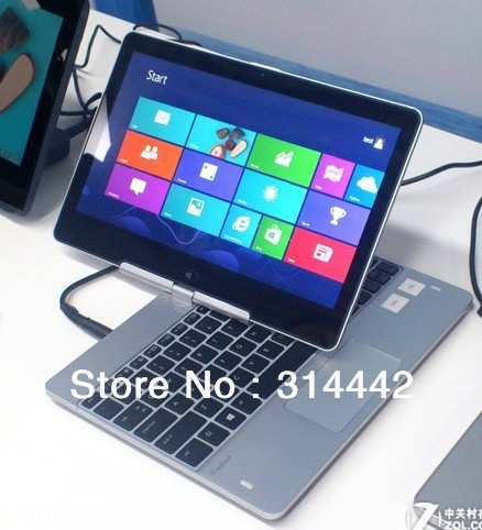 in Stock 11.6 inch Rotating Capacitive Touch Screen Win8 OS Laptop/Notebook R116+2GB RAM+320GB HDD+BT+Multi-Languages Keyboard(China (Mainland))