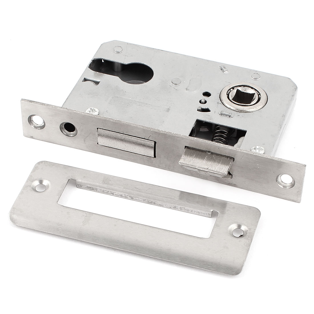 Office Home Security Metal Door Locking Gate Latch Lock Silver Tone(China (Mainland))