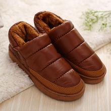 Cheelon Zapato 2016 Más El Tamaño 35-44 Mujeres Botas de Nieve de Invierno Cálido Botines de Plataforma Plana y Resistente Al Agua Casa zapatos(China (Mainland))